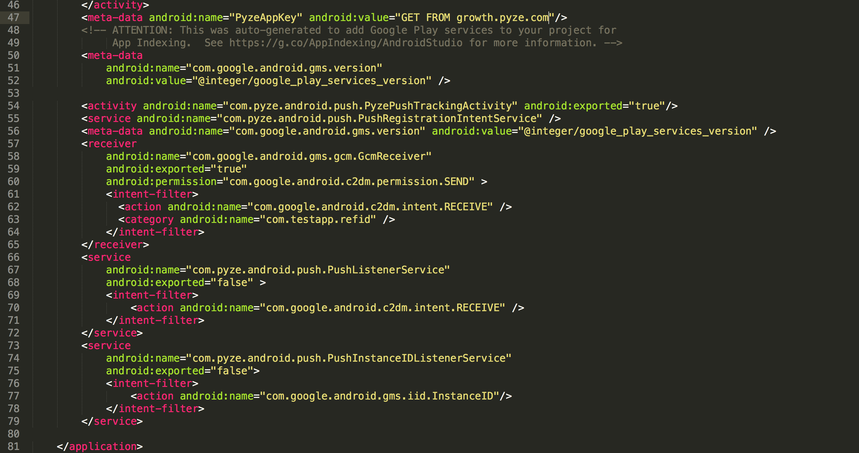 Android Smart App Agent version 2 2 0 released – Pyze Blog